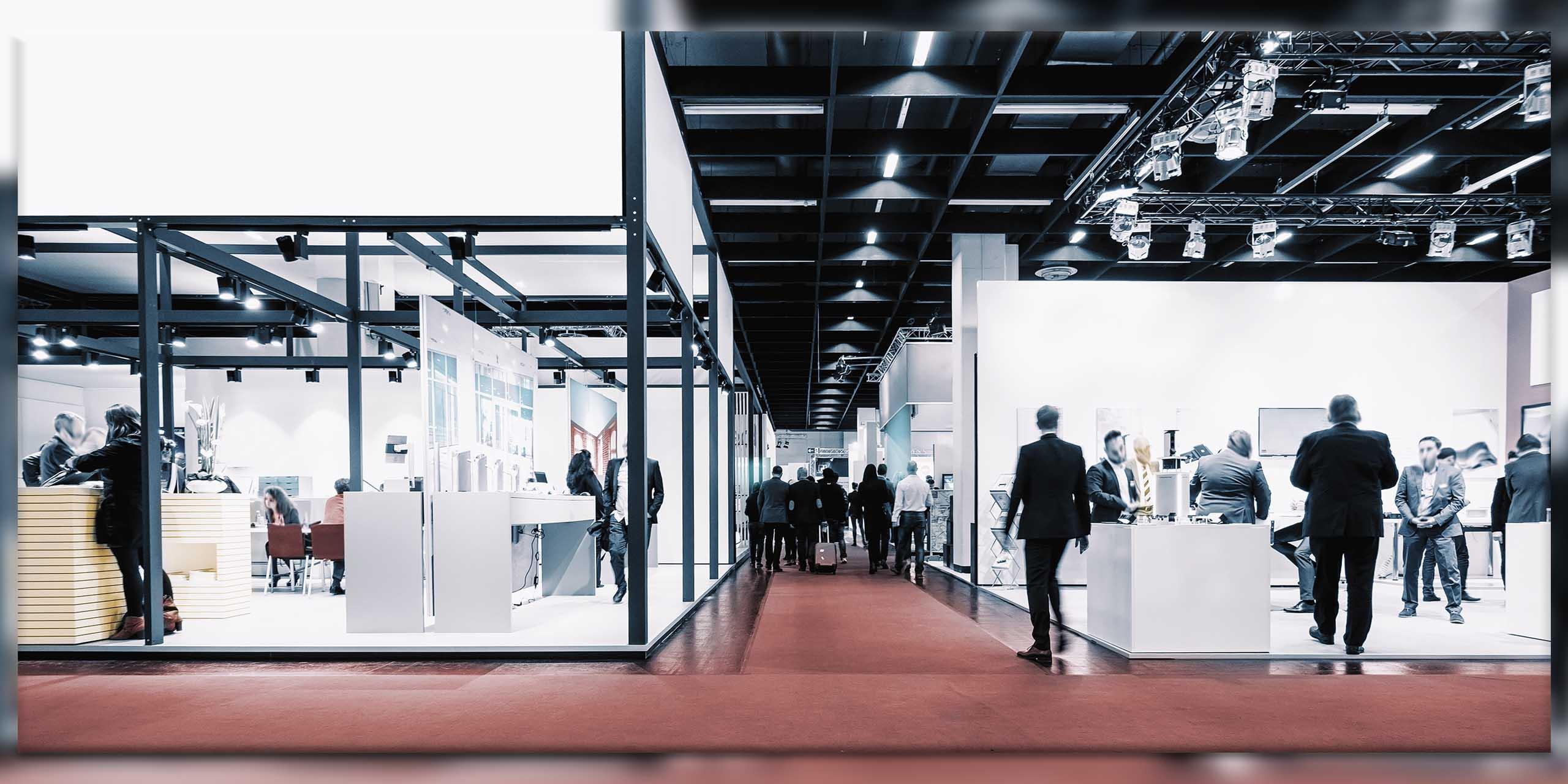 Copertina articolo allestimenti fiera showroom